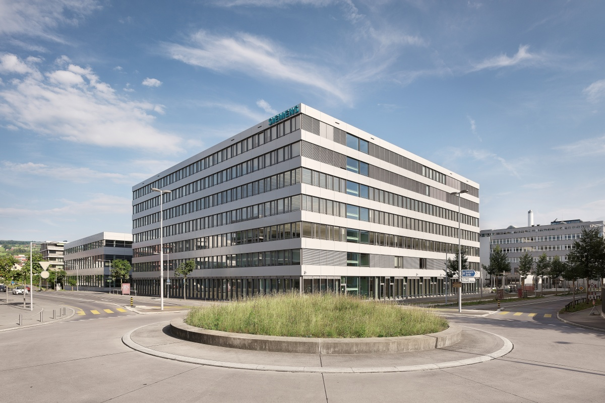 Siemens Zug campus aims to be a reference project to demonstrate building technologies