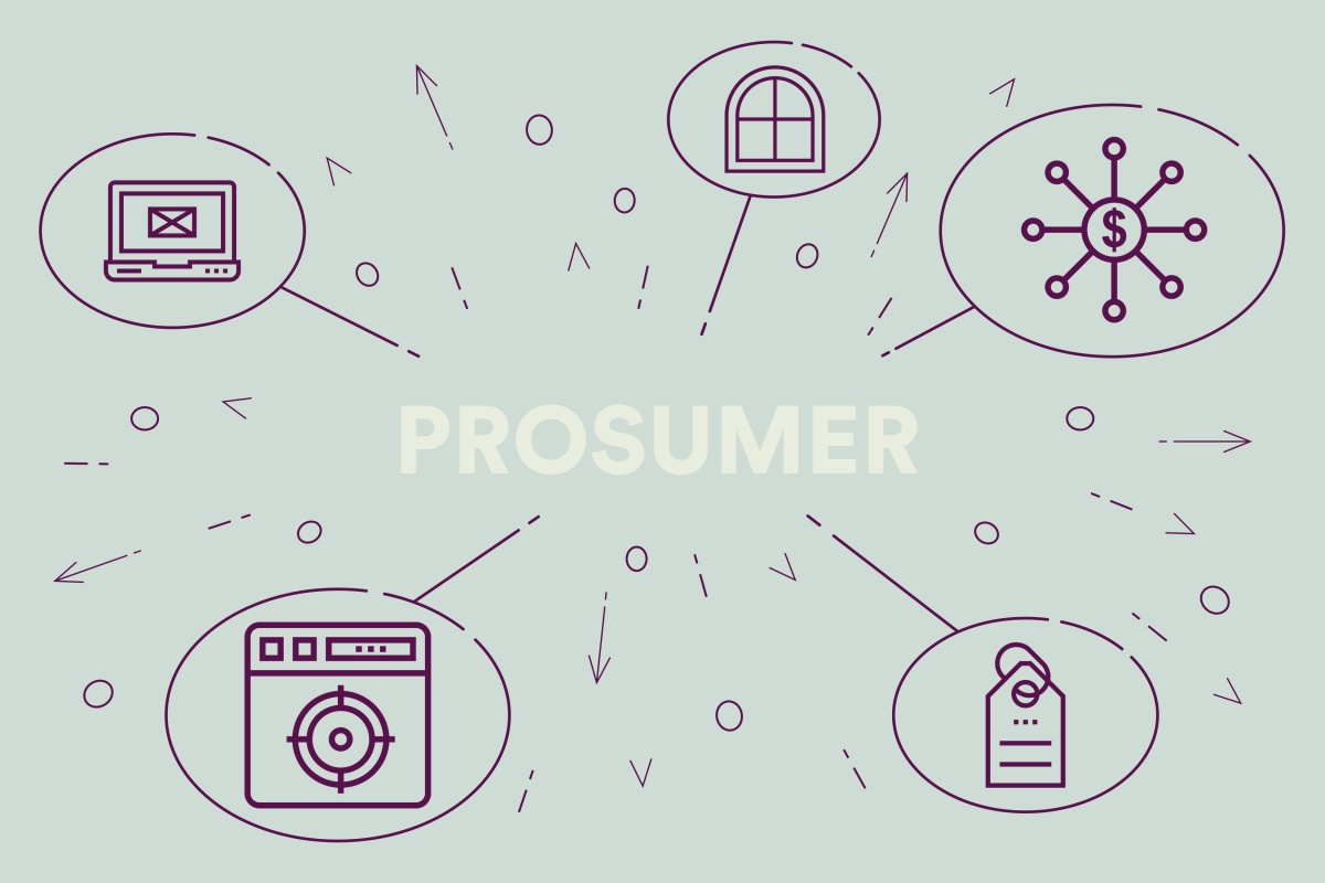 The rise of the prosumer is one of the factors that will drive radical change