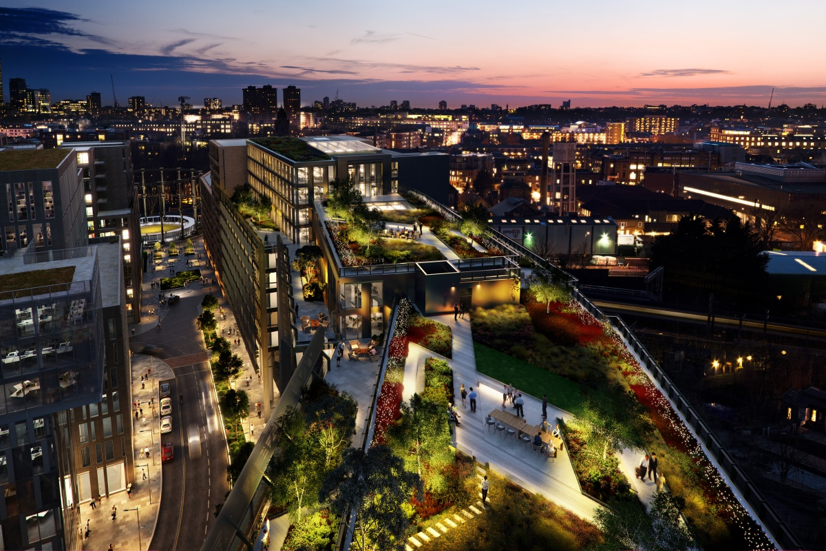 Bennetts Associates is currently designing Facebook's new London HQ in King's Cross