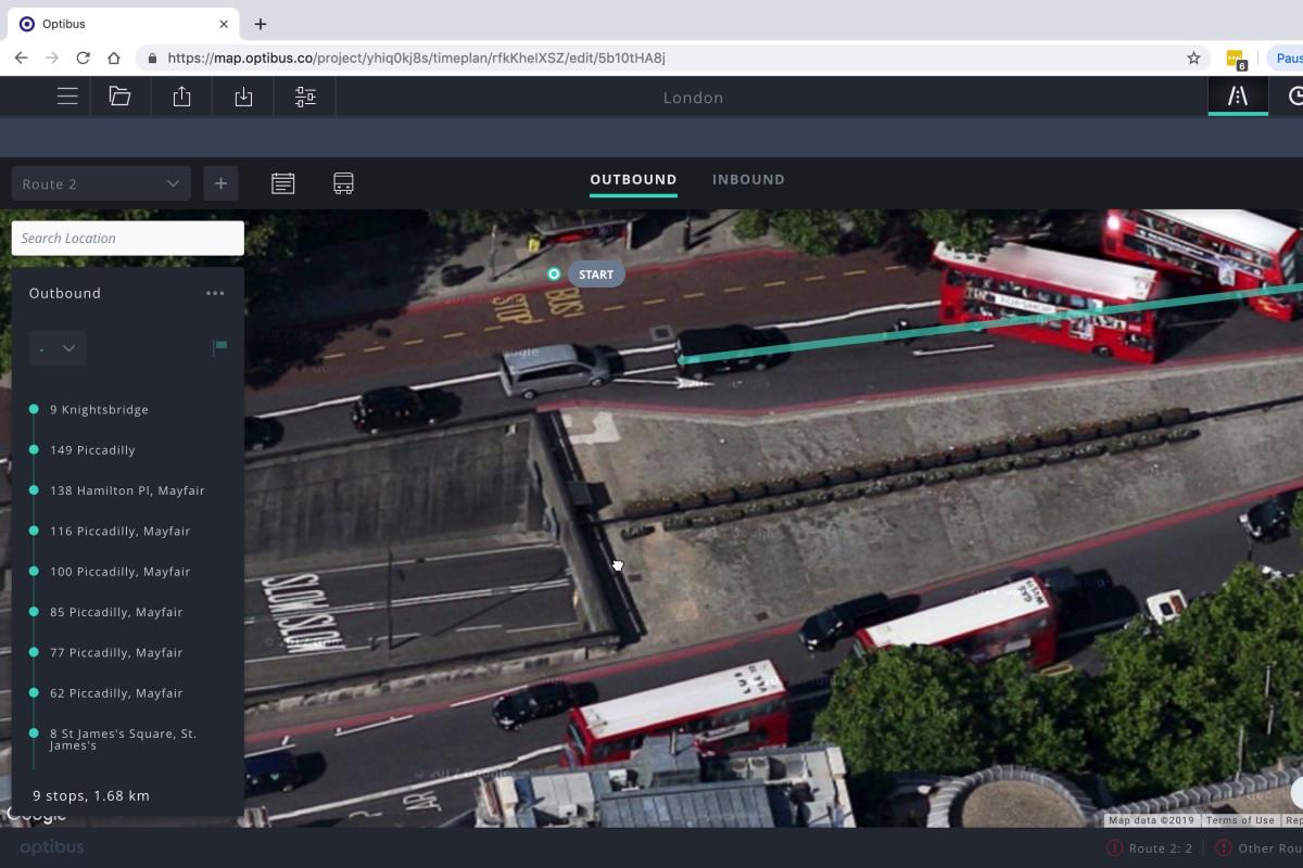 Optibus' mapping module aims to help modernise mass transit