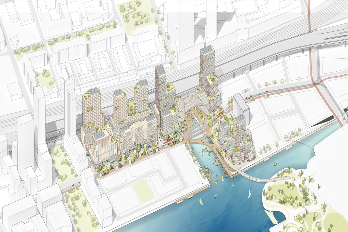 Quayside plan. Picture courtesy: Sidewalk Labs