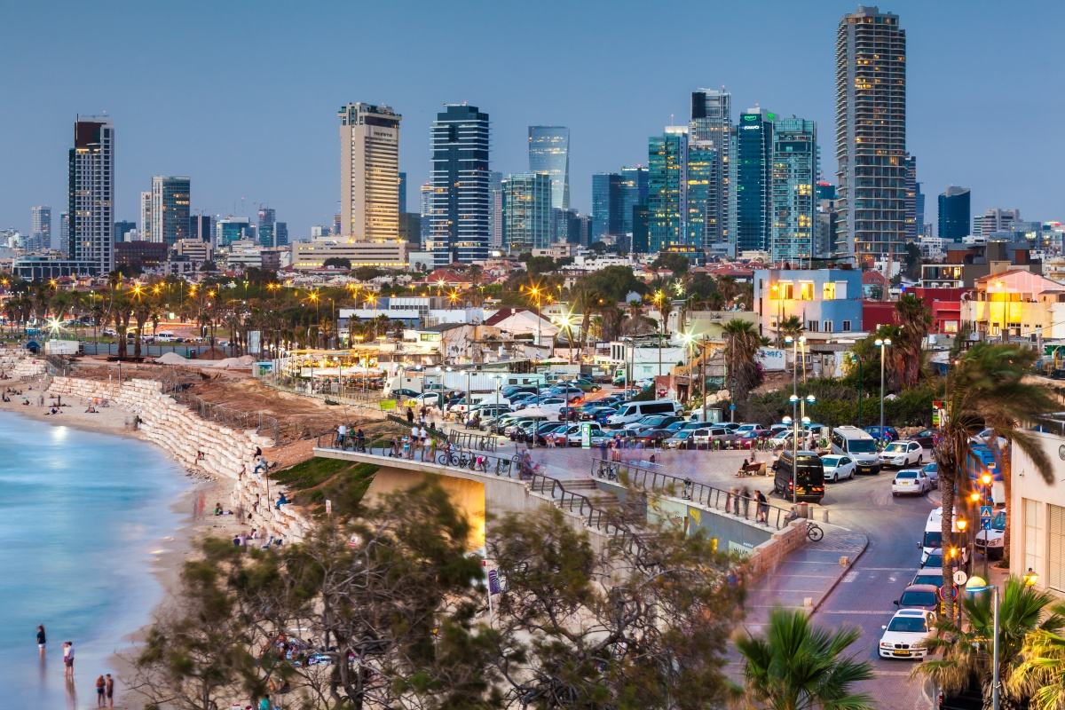 Tel Aviv is actively building an ecosystem of start-ups and entrepreneurs