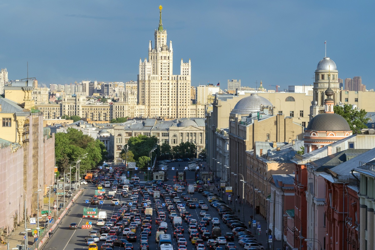 Moscow lost 210 hours to congestion in 2018