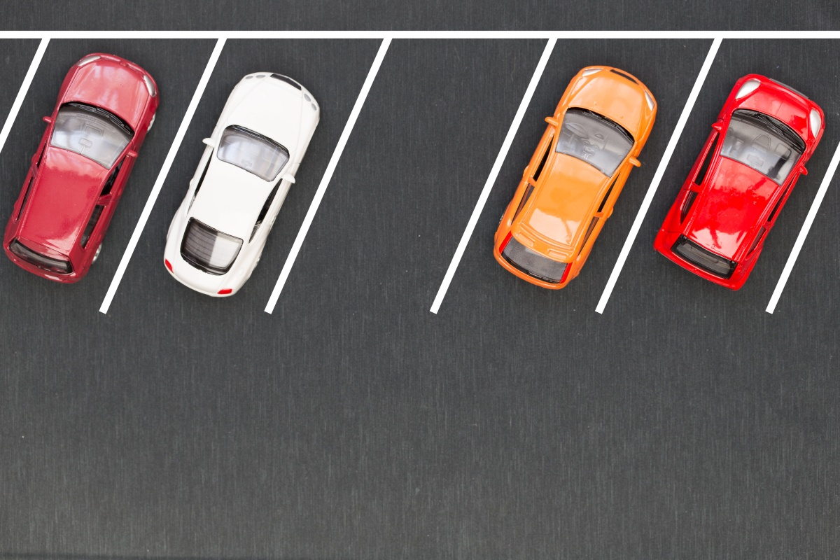 The solution monitors parking usage in real-time while collecting data