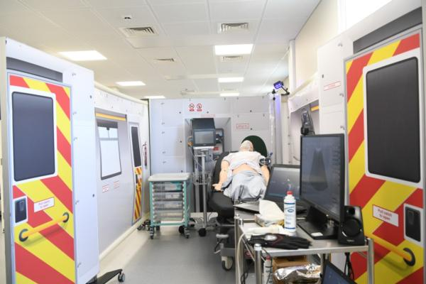 5G testbed demonstrates the ambulance of the future, today