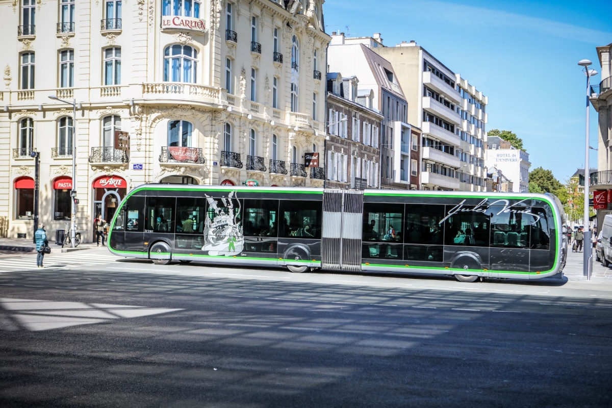 The environmentally friendly buses improve quality of life for passengers and local residents