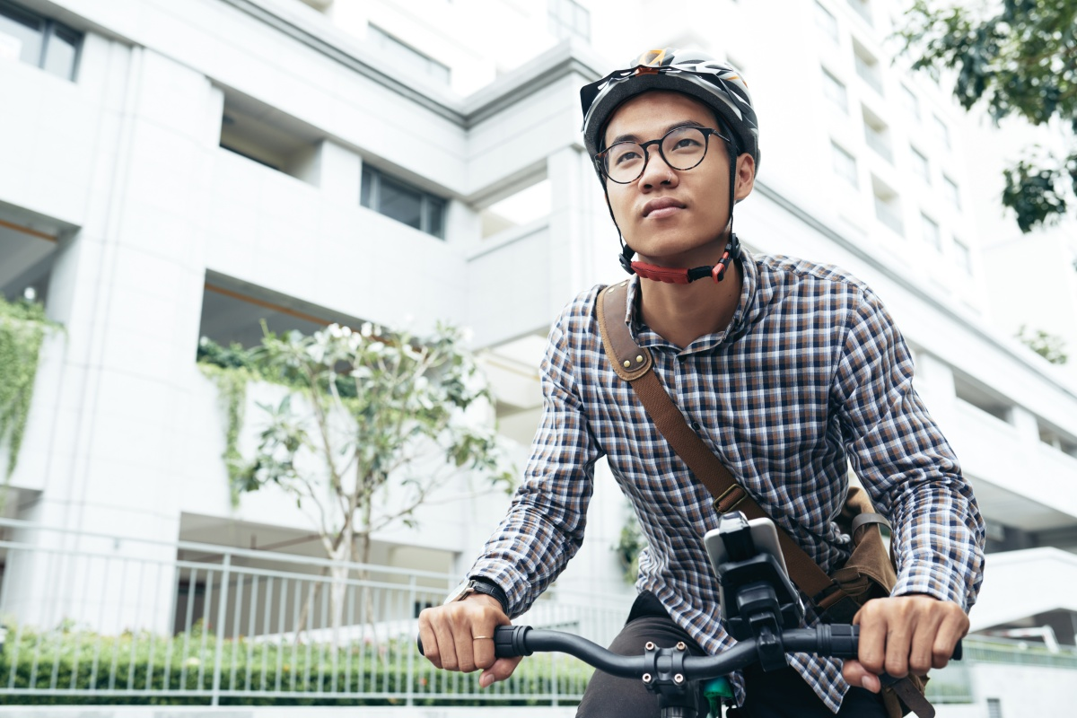 People reportedly take one billion two-wheel rides a day in China