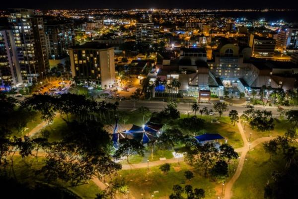 Darwin switches on Australia's largest smart city