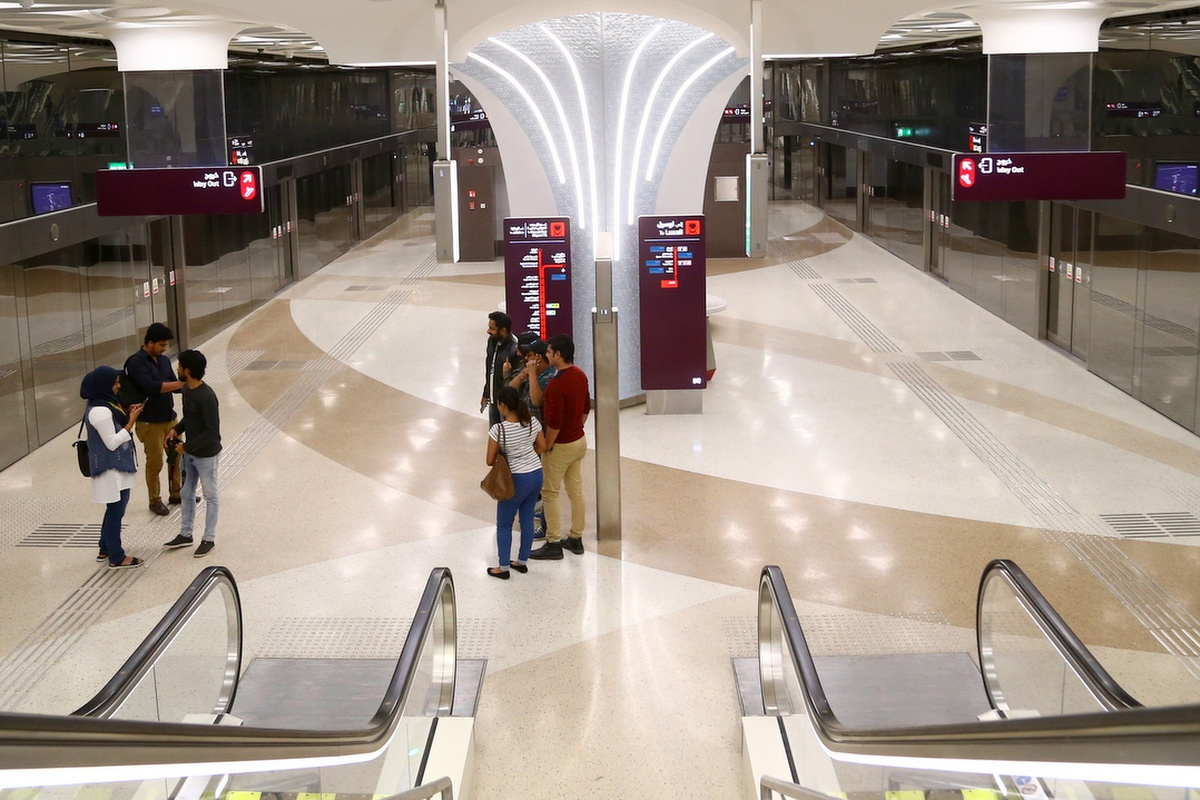 When fully open, the metro will carry 650,000 passengers daily. Copyright: Qatar Rail