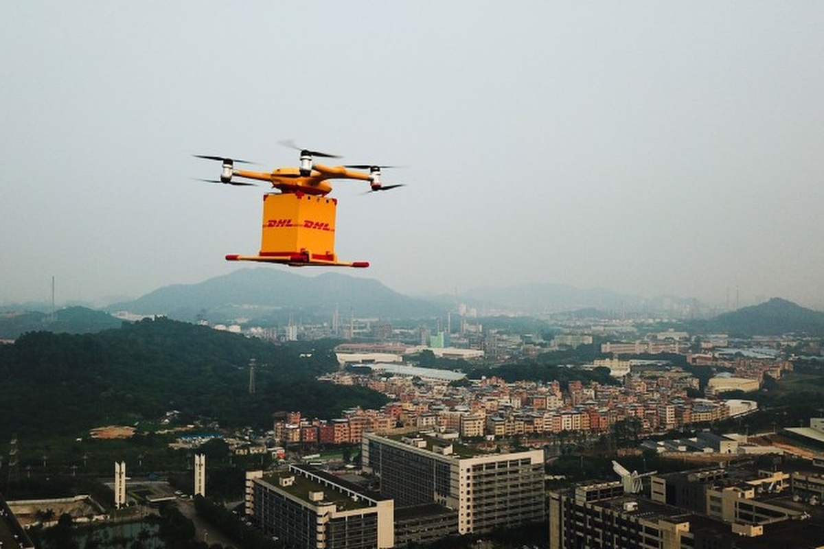 Drone service covers a distance of 8km between the customer premises and DHL's service centre