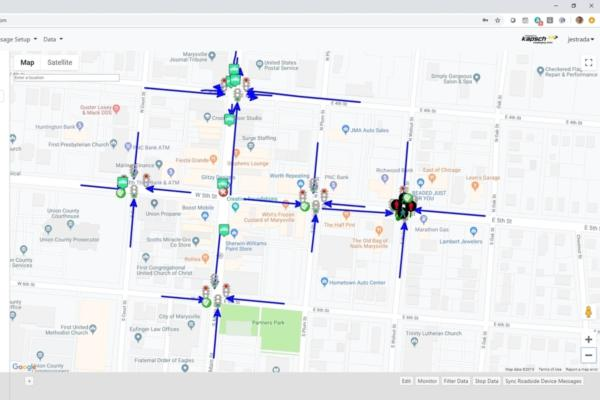 Columbus builds connected vehicle environment