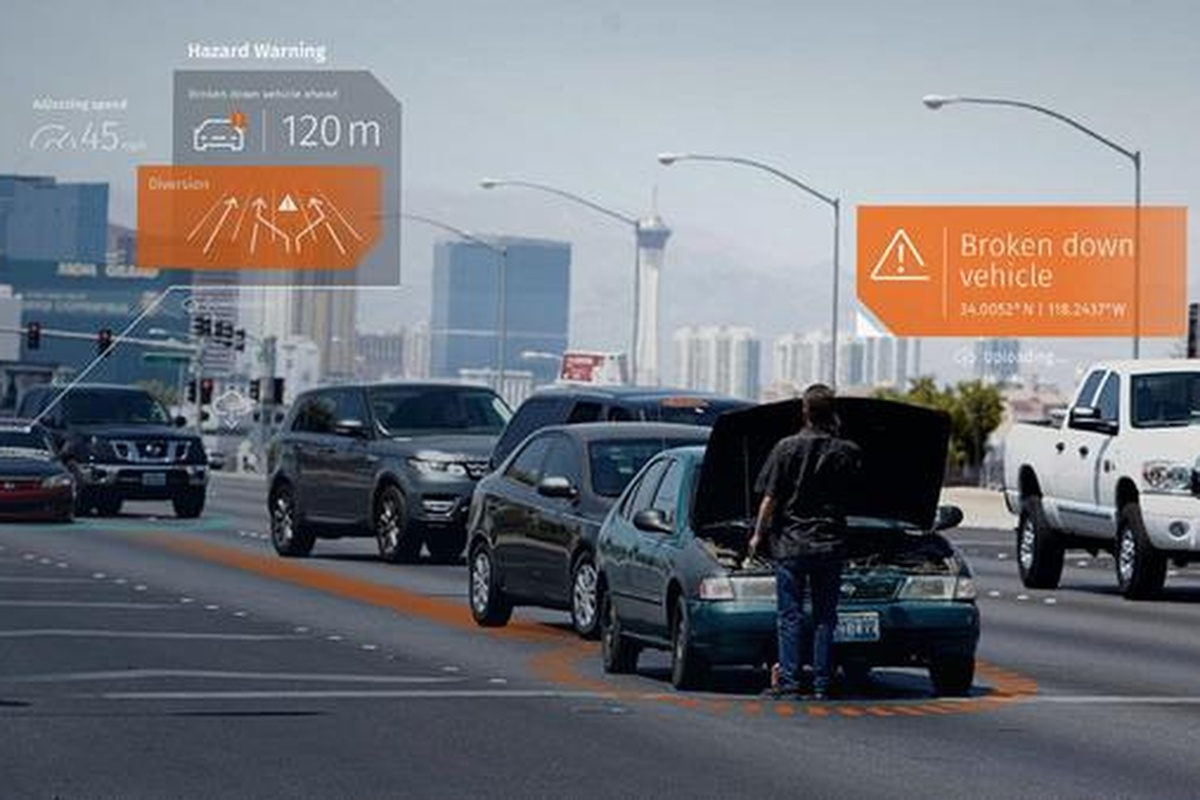 The incident data is shared from car-to-cloud-to-car to boost driver safety
