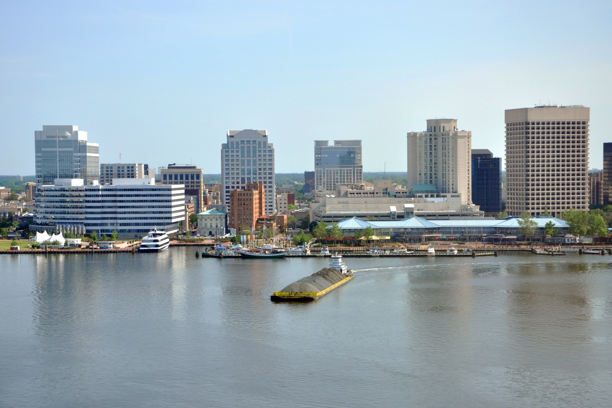 Norfolk in Virginia is home to 247,000 residents in a 66 square-mile area