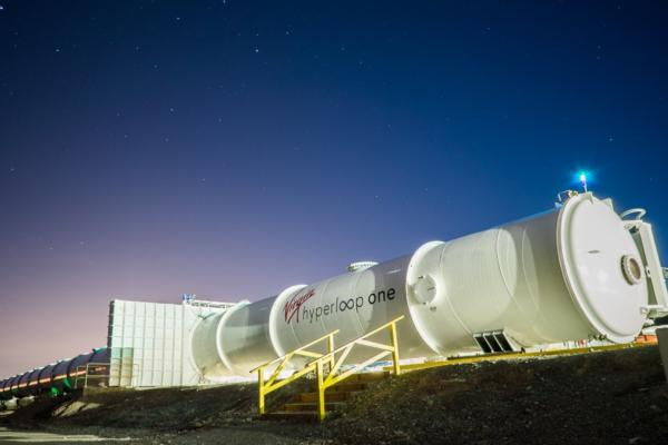 Virgin Hyperloop One kicks off US road trip