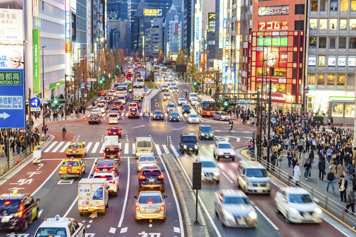Those travelling to and from the Shinjuku district are among those to benefit from mobile ticketing