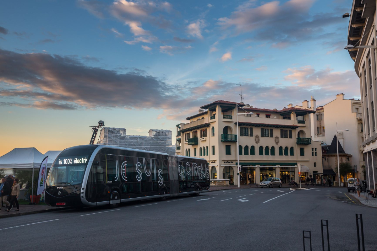 10 eBRTs will link Bayonne and Biarittz and serve the main regional hubs