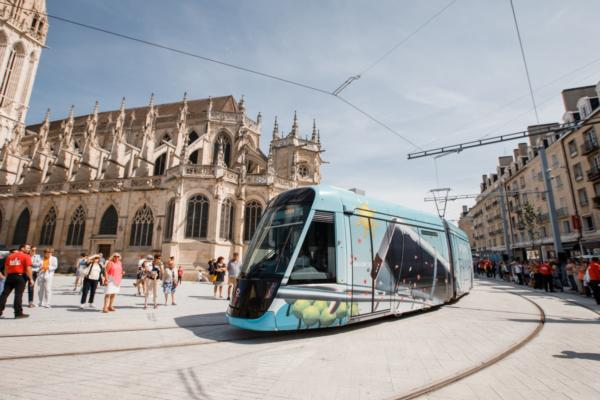 New tram service rolls out as part of Caen la Mer's modernisation programme
