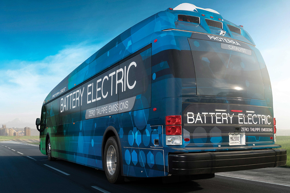 Many of the projects will help finance the purchase of electric buses