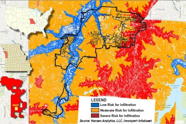 Kansas City progresses 22-mile smart sewer assessment project