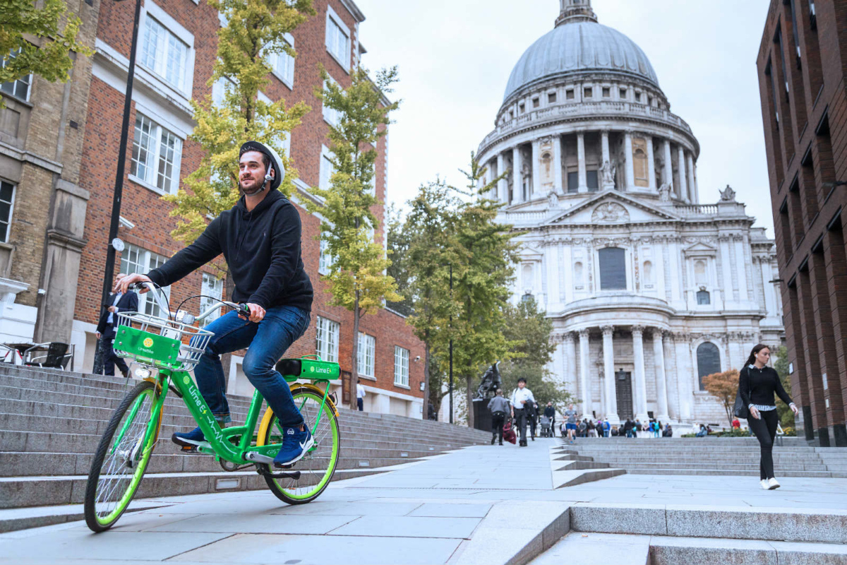 Lime wants to help get London cycling and give a choice of green travel options
