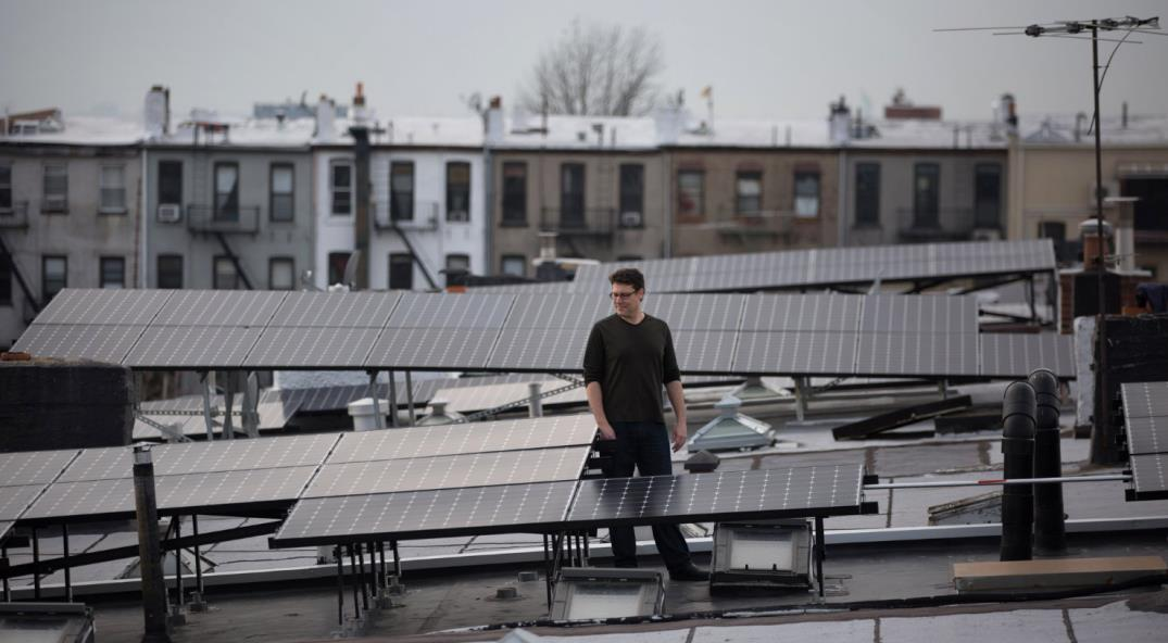 Local 'prosumer' in Brooklyn Microgrid (Source: Brooklyn Microgrid)