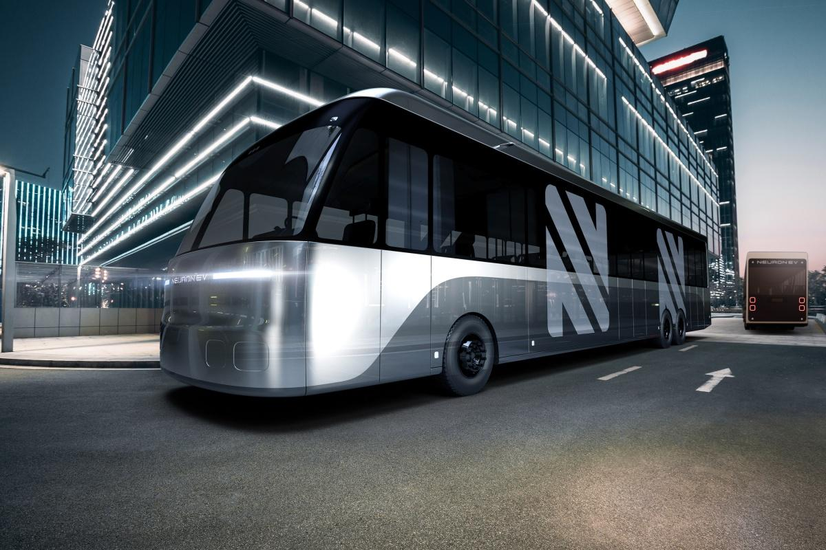 The modular electric bus from Neuron which can be used in a number of ways