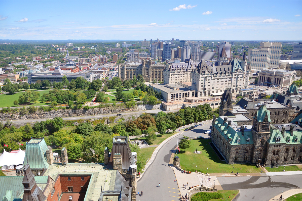 Ottawa scored highly in areas such as air quality and house price to income ratio