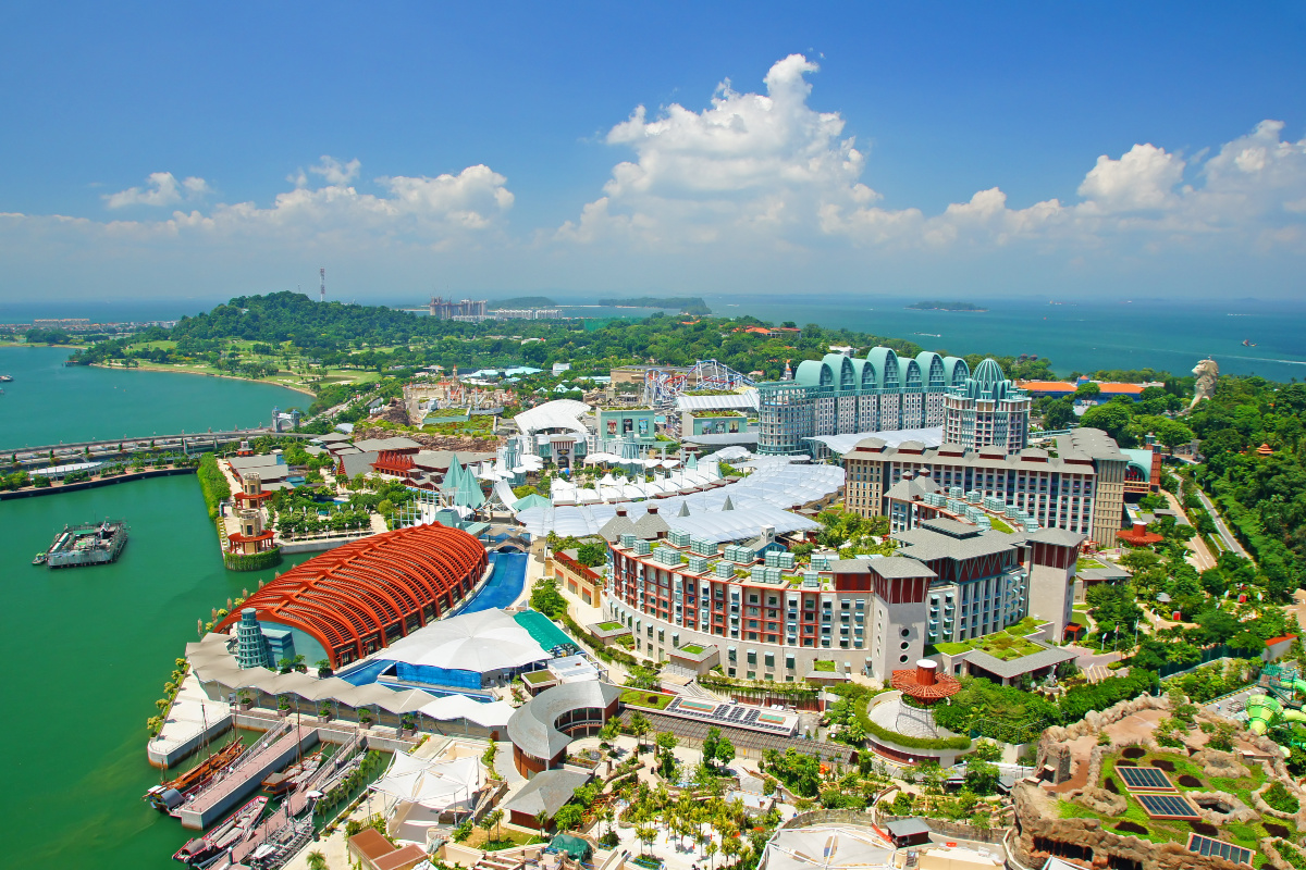 The trial will run along a 5.7km route on Singapore's Sentosa island resort