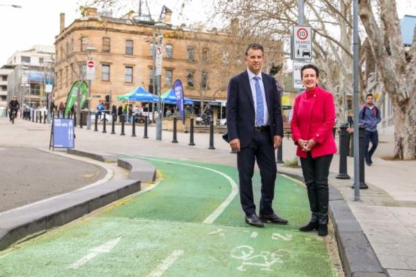 Sydney gains new cycle routes to boost active travel