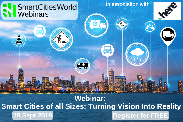Webinar: Smart Cities of all Sizes: Turning Vision Into Reality