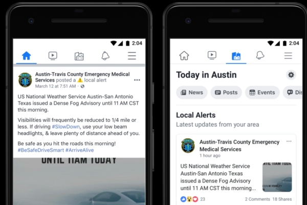 Facebook expands local alert tool within the US