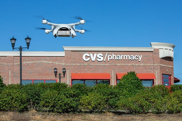 UPS and CVS make first residential drone prescription deliveries in Cary