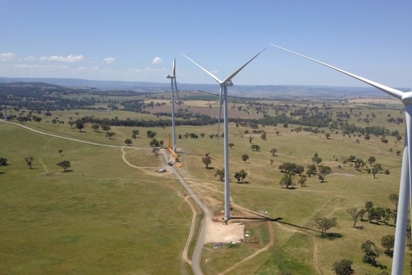 The Sapphire Wind Farm will be among the sources of the renewable energy