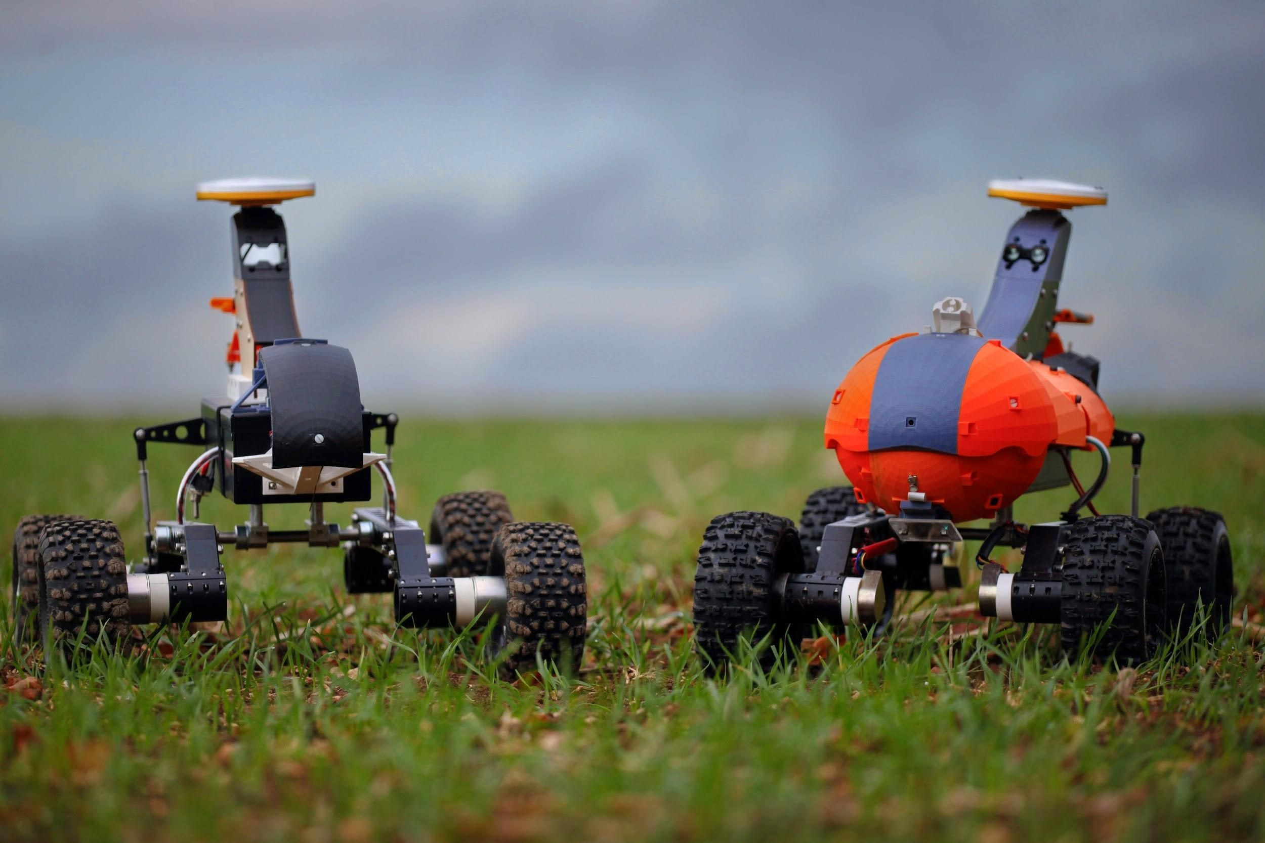 Prototype robots. Source: Small Robot Company
