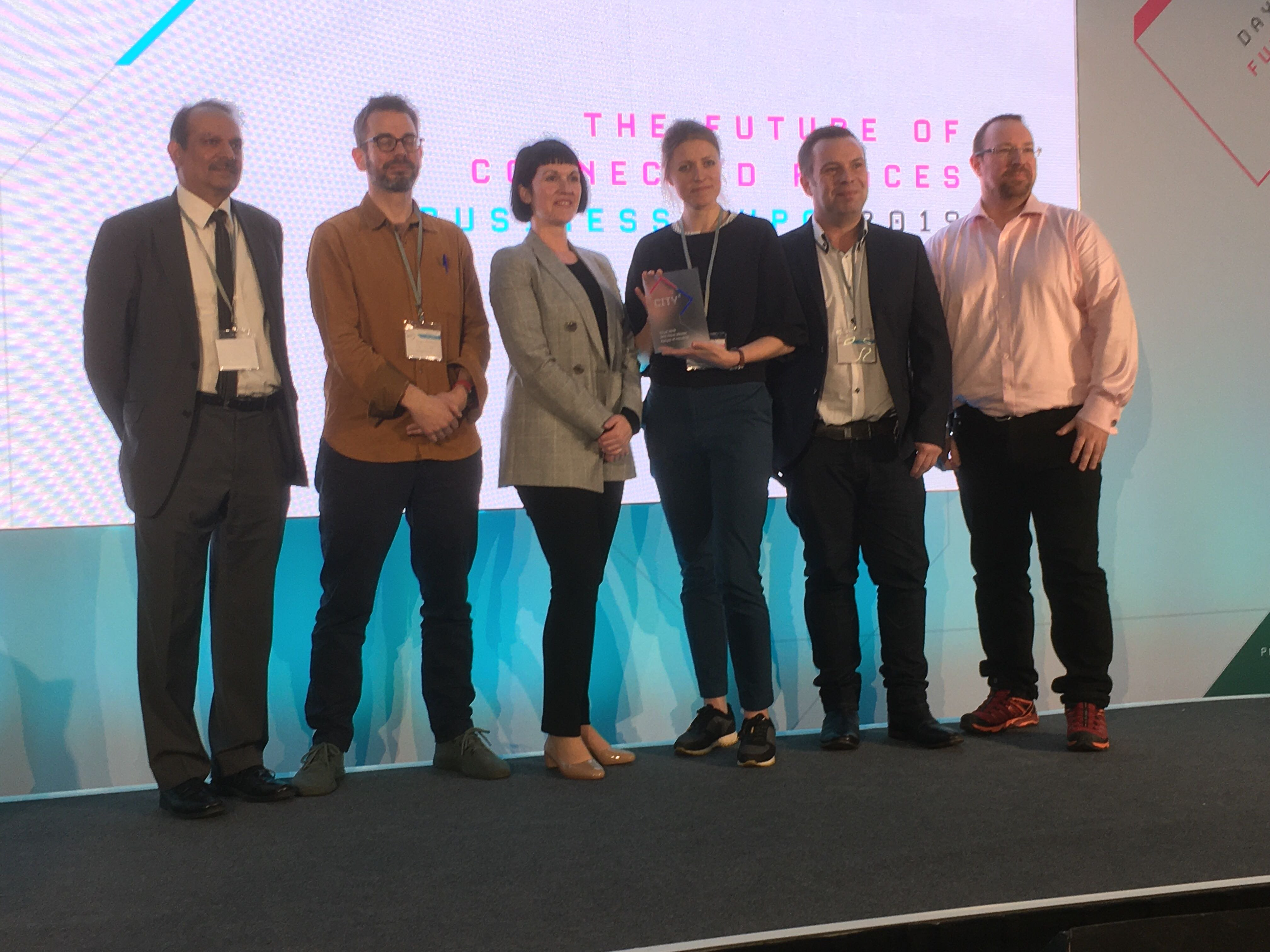 The Future Fox takes the award at CityX Future of Housing day